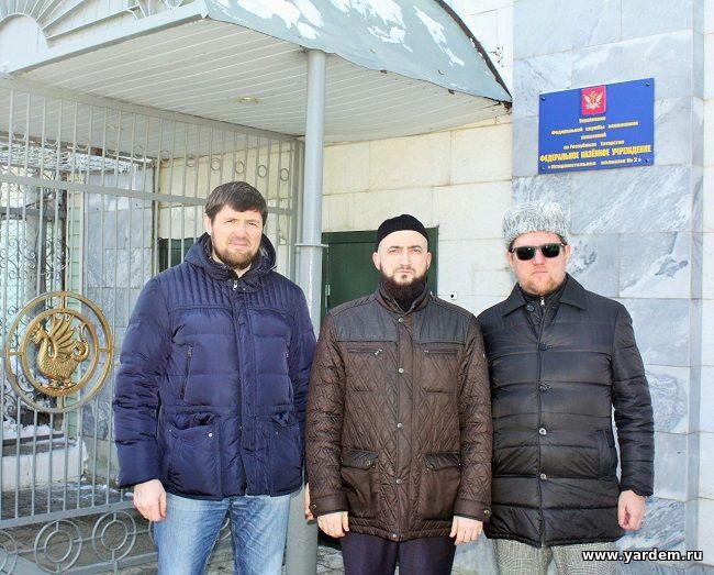 Ильдар Баязитов совместно с Муфтием Камилем хазрат Самигуллиным посетили ФКУ ИК-2. Общие новости